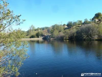 Azud y nacimiento Acueducto de Segovia; cebreros rio alberche las tablas de daimiel isla de ons